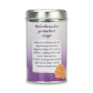 OxclusiviA Rohrohrzucker graeuchert