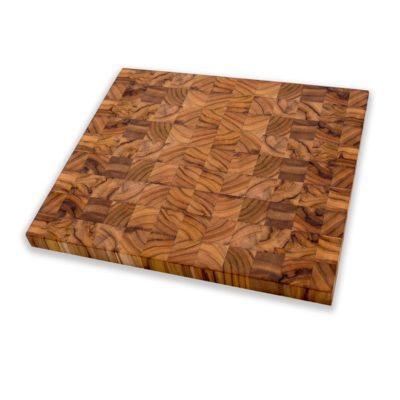 Oxclusivia Teakholz Schneidebrett Mosaik 35cm 3